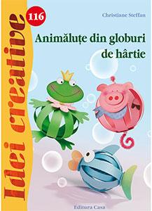 Idei creative, Animăluțe din globuri de hârtie 116