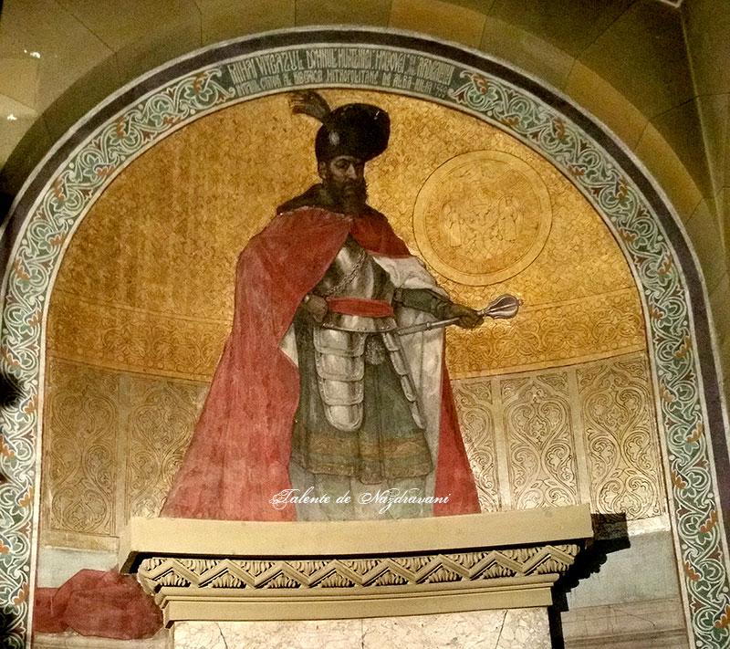 Mihai Viteazul, Domnul Munteniei, al Moldovei și al Ardealului, întâiul ctitor al bisericii metropolitane de la Alba Iulia, 1599