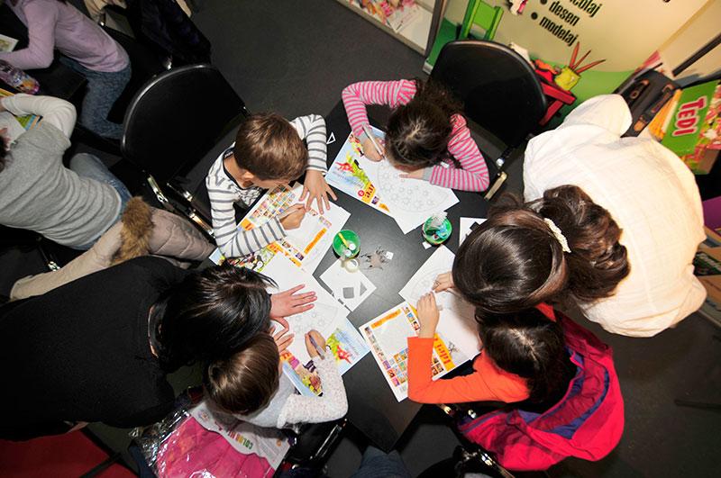Atelier de creație- filigran, Gaudeamus 2015