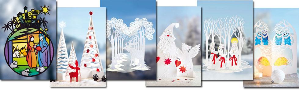 Decupaje de iarnă pentru ferestre - idei-creative 119