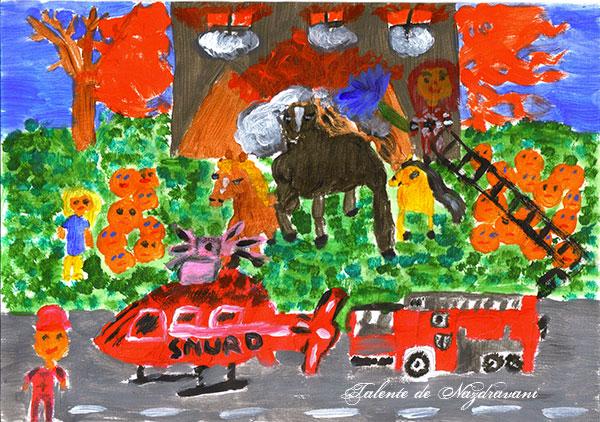 Ilinca P., Câmpina, 9 ani
