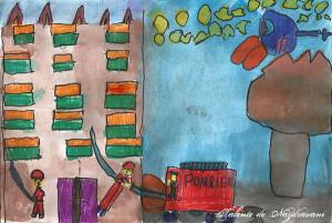 Lavinia C., 8 ani, Telega (PH)