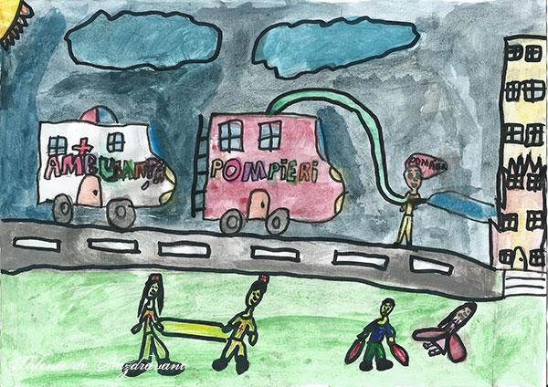 Cristina P., 8 ani, Telega (PH)