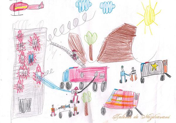 Marc A., Baia Mare, 7 ani