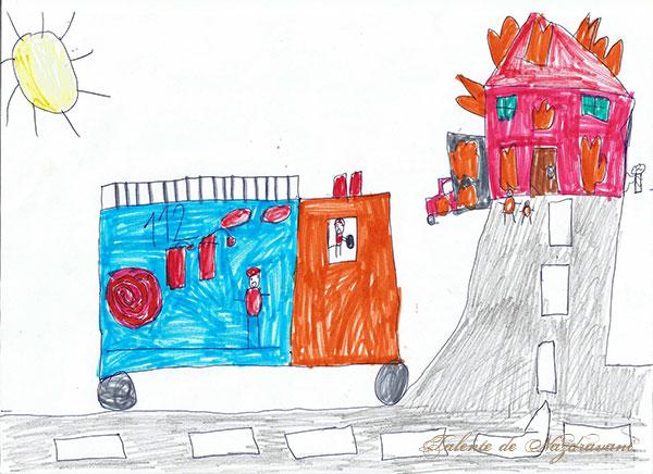 Gabriel P., 8 ani, Schela (GL)