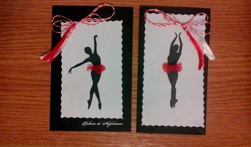 martisoare balerina cusut