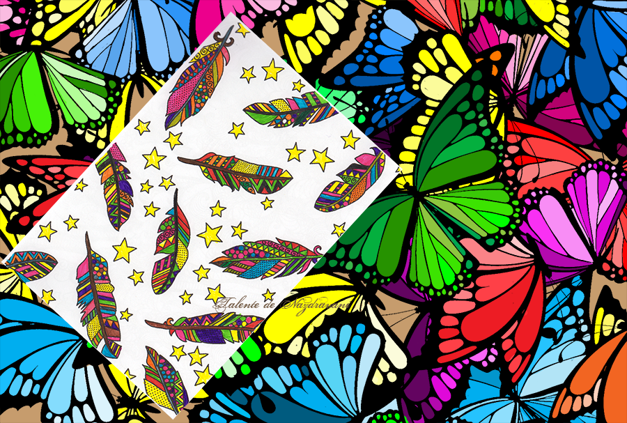 Vise plăcute - Carte de colorat pentru adulţi