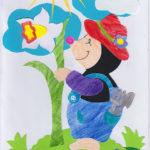 Cârtița grădinar - exercițiu de decupaj