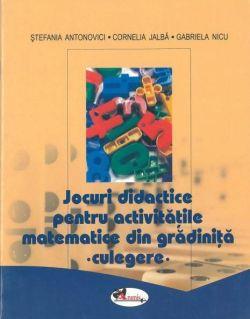 jocuri didactice pentru activitatile matematice din gradinita