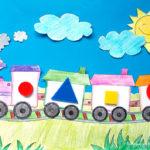 Jocuri matematice cu forme geometrice pentru preșcolari