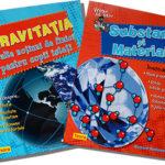 Vreau să știu – Gravitația, Substanțe și materiale- editura Teora
