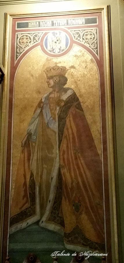 Regina Maria a României. Încoronată la 15 octombrie 1922, la Alba Iulia. A murit la Sinaia, la 18 iulie 1938 (62 de ani)