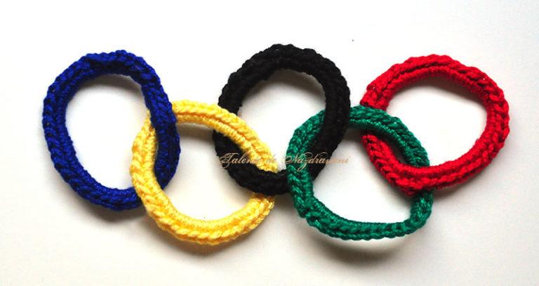 Steagul olimpic crosetat