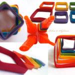 Șablon 3D pentru quilling - Daco