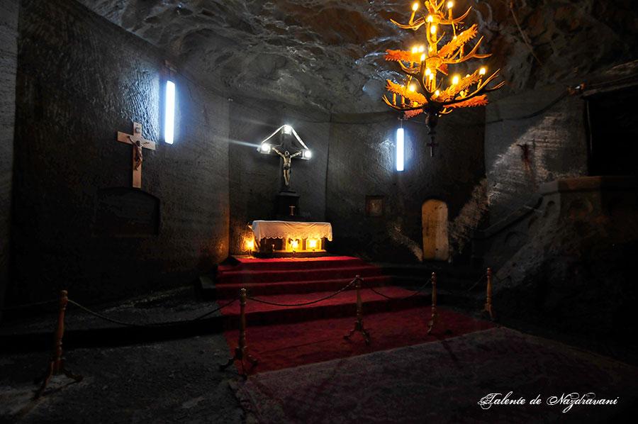 Salina Cacica - capela Sfânta Varvara