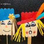 Sperie-ciori din bețe de lemn
