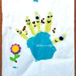 Dactilopictură - minioni pe degete