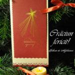 Crăciun fericit! – felicitare string art