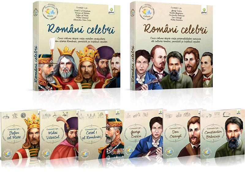 Romani Celebri - editura Gama