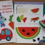 Colaj: pepene din cercuri de hartie