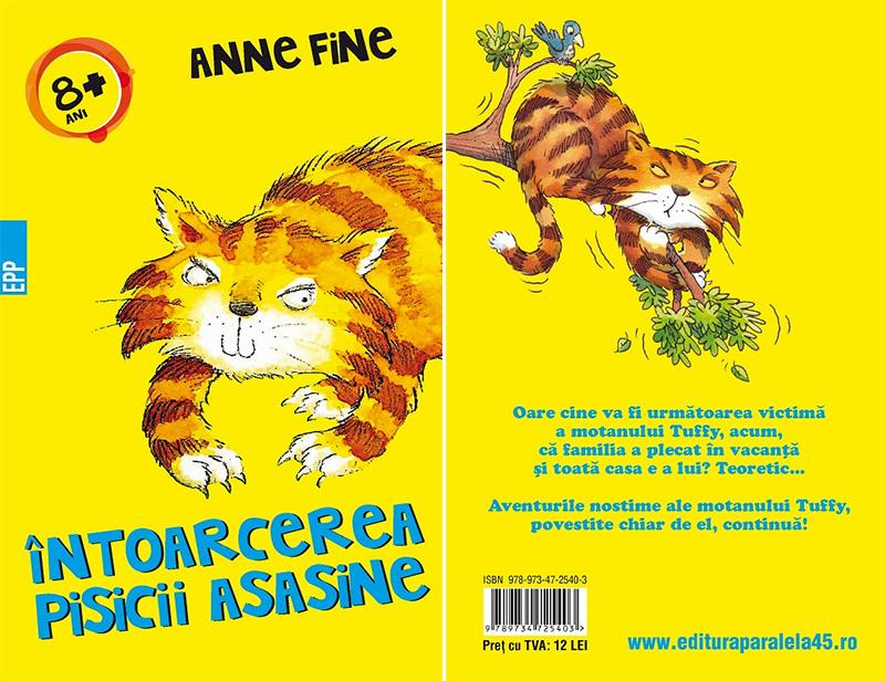 Întoarcerea pisicii asasine, Anne Fine, Editura Paralela 45