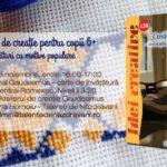 Atelier gratuit de cusături la Gaudeamus