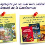 Atelierele gratuite de lectură, pentru copii, la Gaudeamus