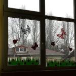 ferestre decor primavara
