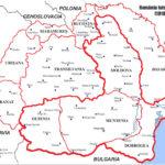 România Mare harta de colorat
