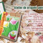 Atelier de origami gratuit la Târgul de carte Gaudeamus