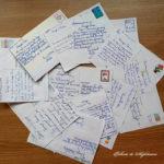 Cartea poștală - aplicație la clasa a IV-a