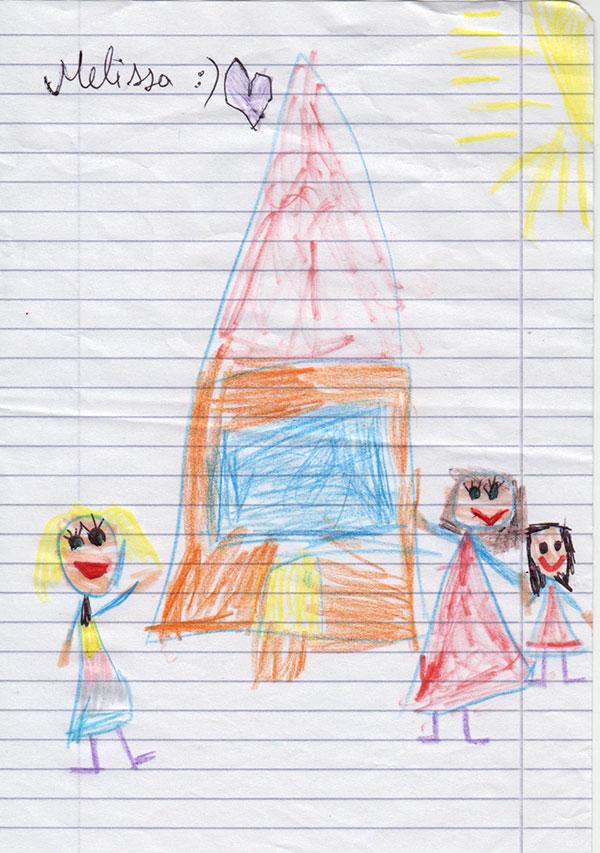 Amintirea mea de azi, pe lângă cele câteva poze și postere realizate de copii. Le spusesem de data trecută că un desen de la ei e cel mai frumos cadou.