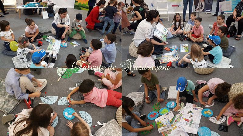 Atelierul Năzdrăvanilor la Bookfest - 1 iunie 2019