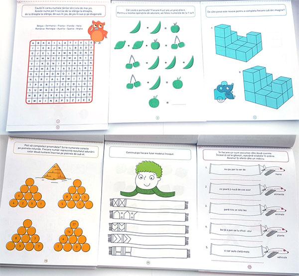Jocuri logice și de antrenament - editura Paralela 45
