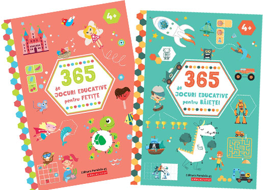 365 de jocuri educative Editura Paralela 45