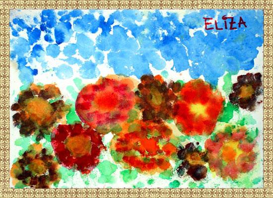 Eliza, flori de toamna