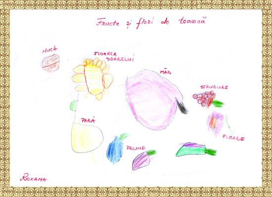 Roxana Elena, flori de toamna