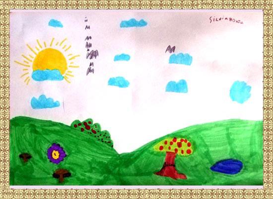 Silvia, peisaj de toamna
