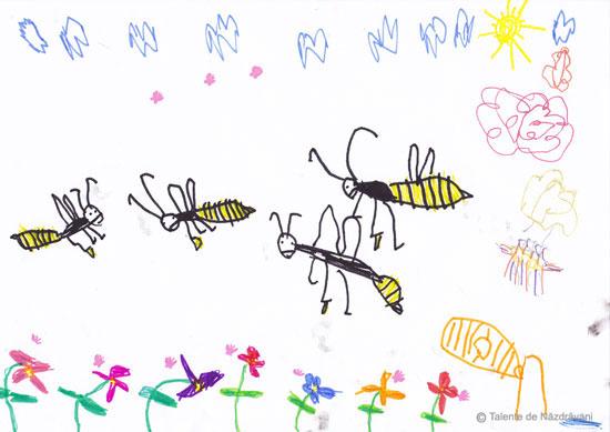 Albine pe la noi prin casa