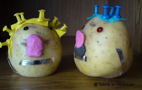 Doamna si Domnul Cartof