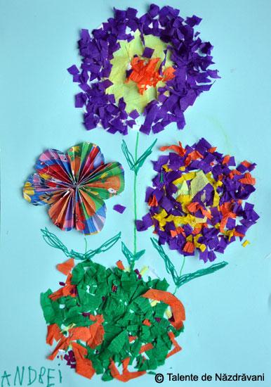 Piticii mei si crizantemele de toamna