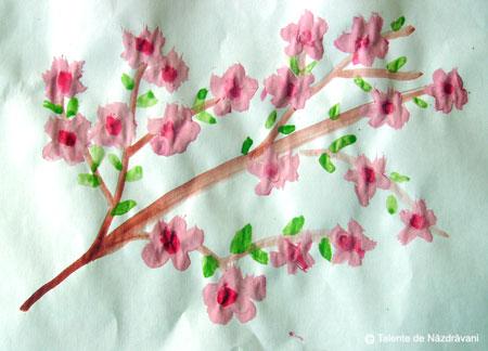 Flori de mar, pictura