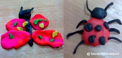 Modelaj: insecte de primavara