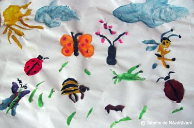 Modelaj, insecte de primavara