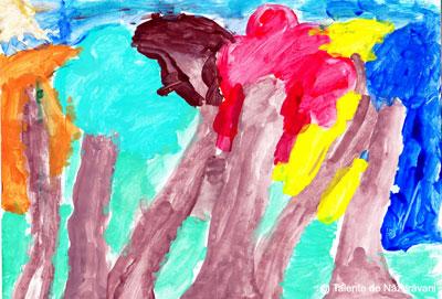 Pictura: padure toamna