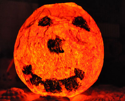 Felinar de Halloween