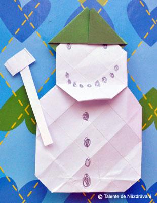 Om de zapada-origami