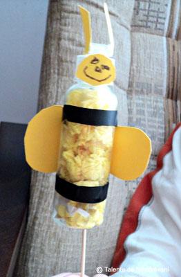 Albinuta - colaj. Bee craft ideas for children