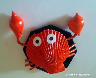Crab. Craft Idea