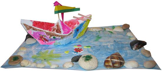 Barca din hartie